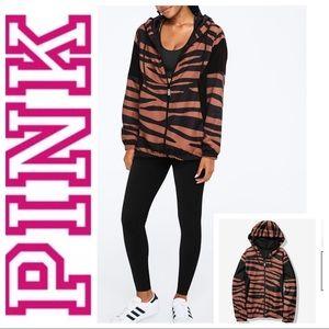 NEW Victoria's Secret PINK Print ANORAK Jacket